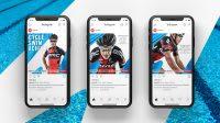 Speedo app design, best retail design agency london