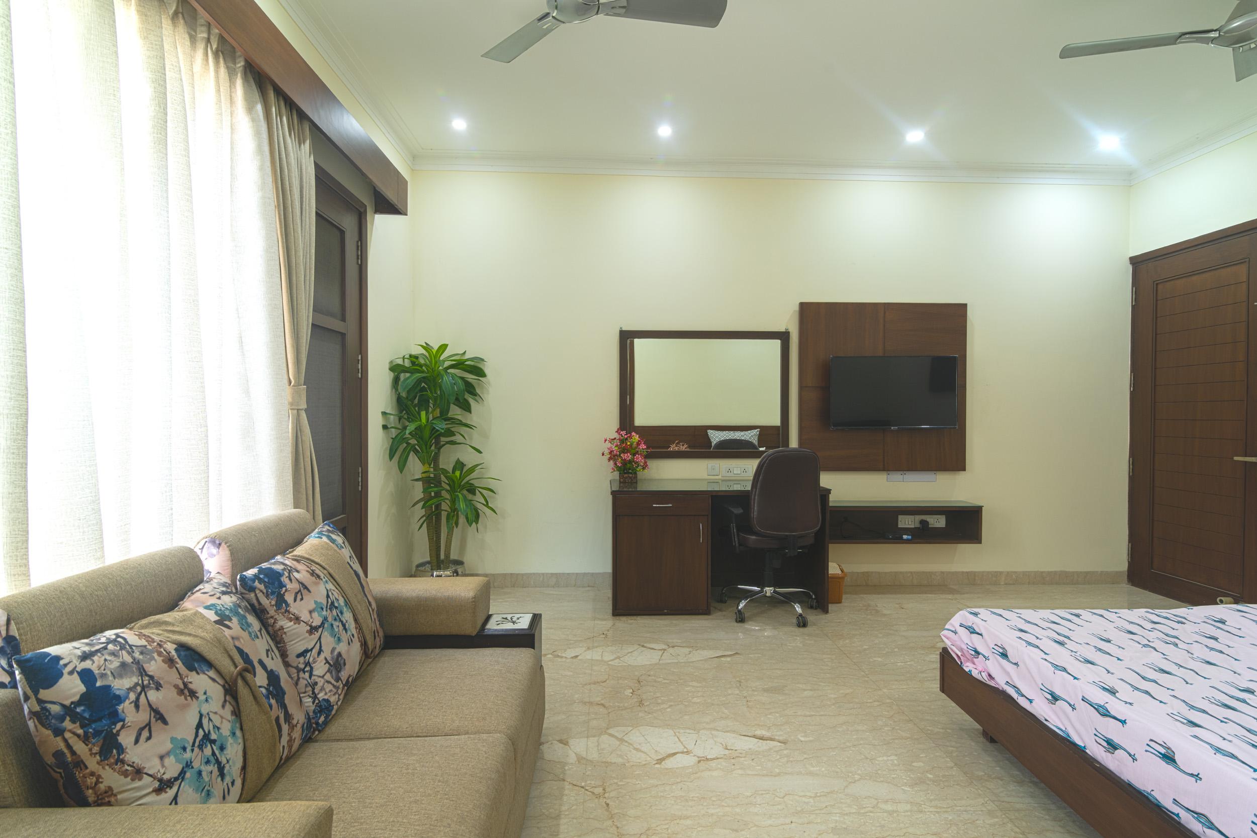 Perch Arbor- Sohna Road,Studio Apartment, Room side View