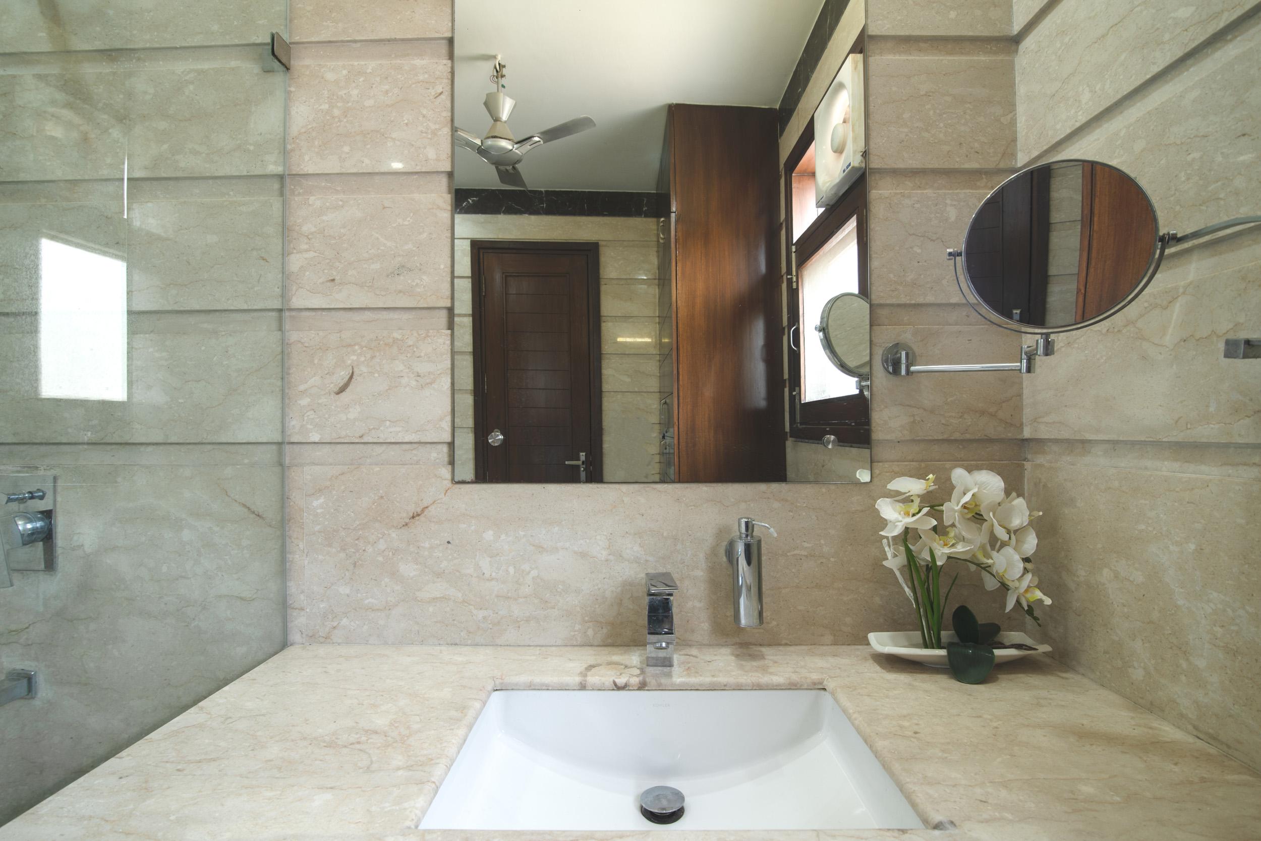 Perch Arbor- Sohna Road,Studio Apartment, Washroom