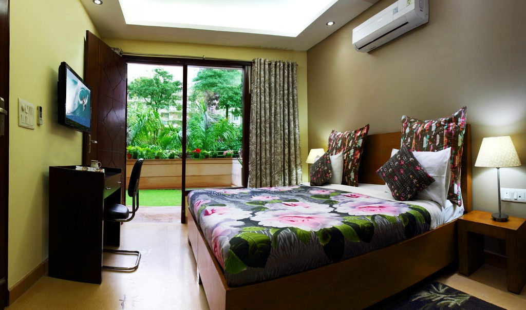 Perch Grove Apartments (Greenwood) - 3 BHK Garden view