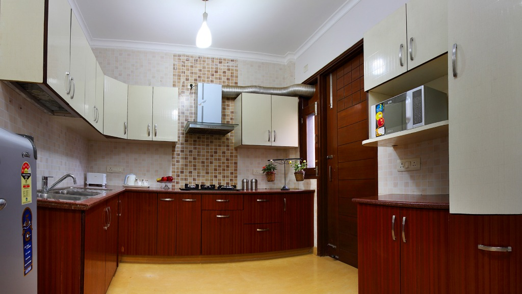 Perch Grove Apartments (Greenwood) - 3 BHK Kitchen
