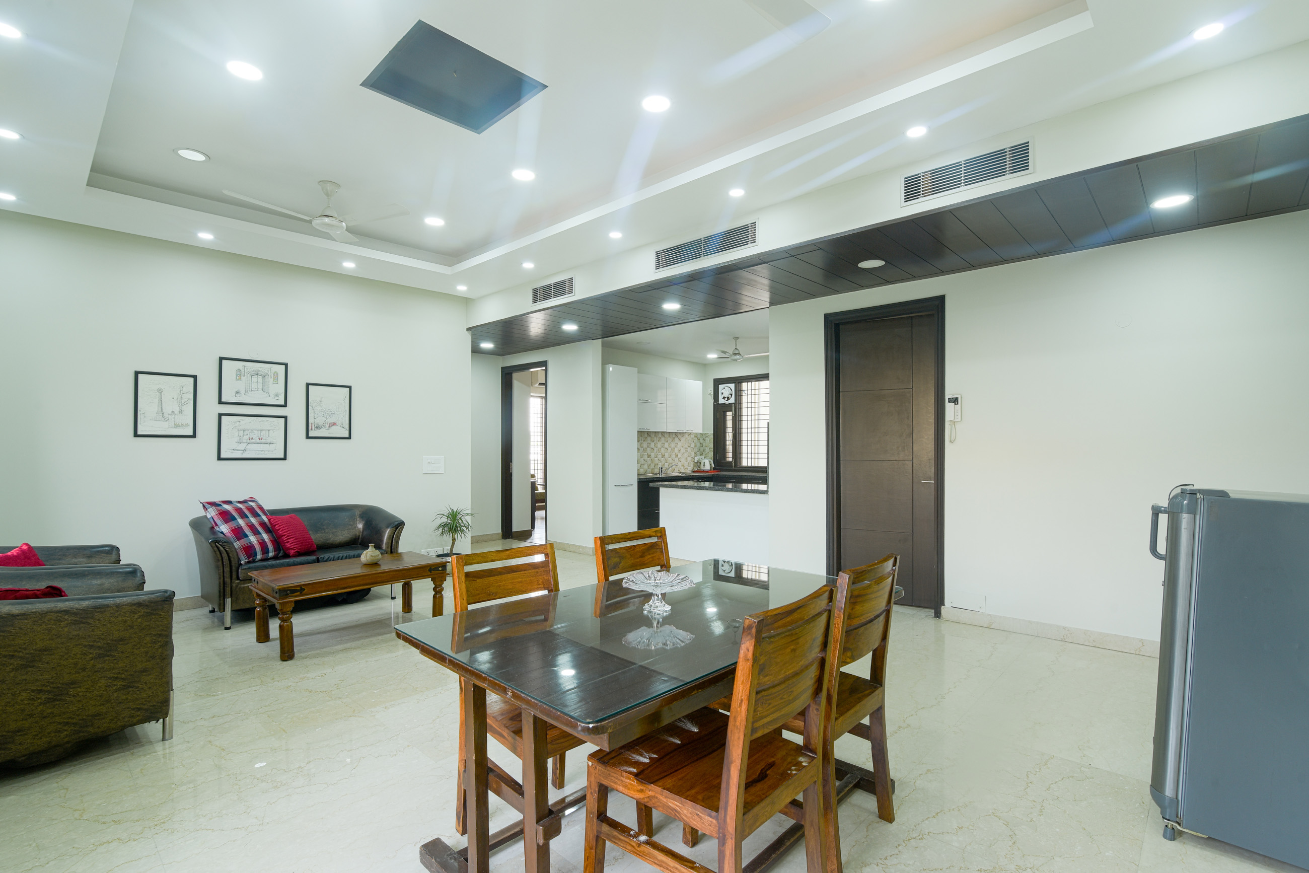 3 BHK - Dining area