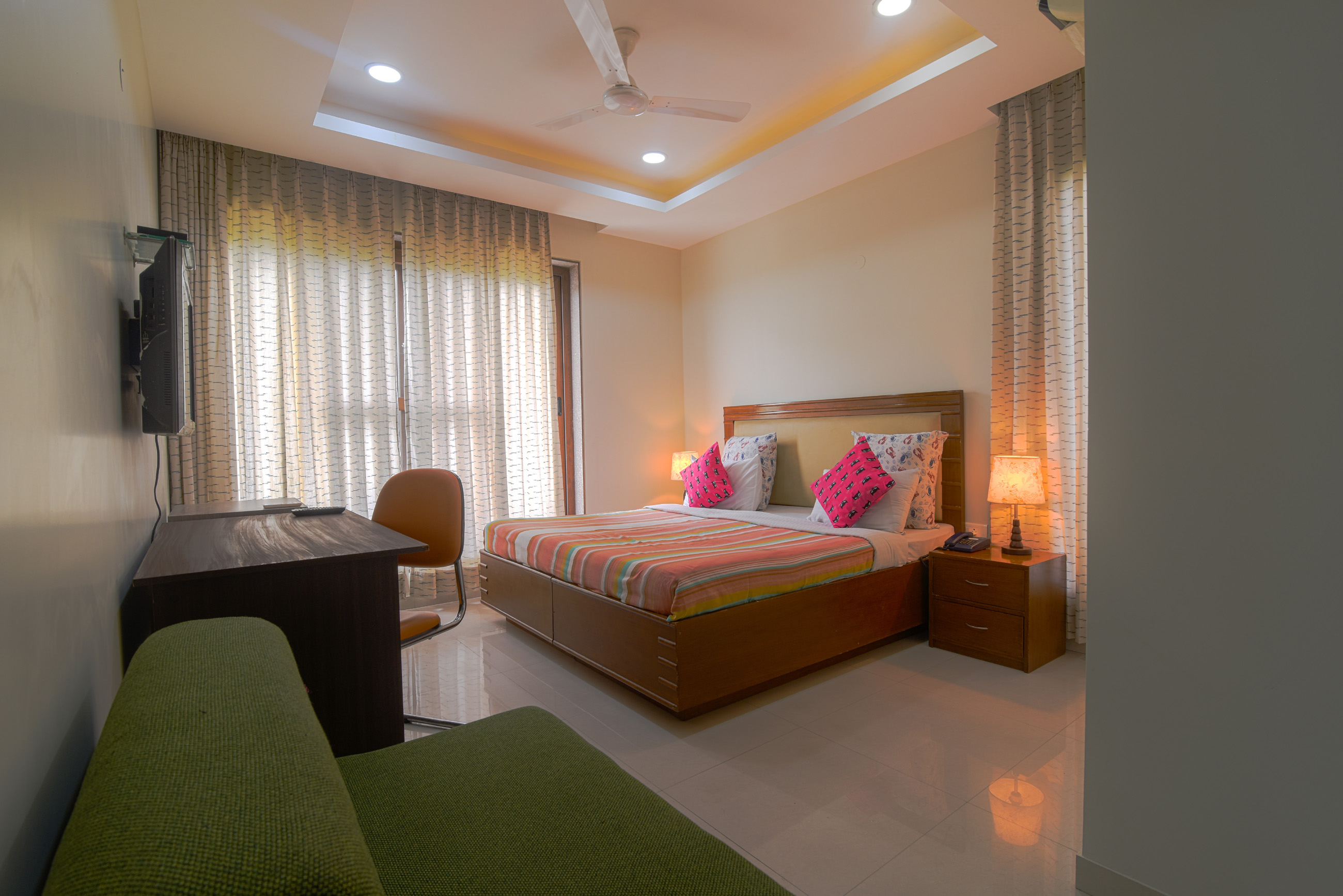 3 BHK  - Bedroom