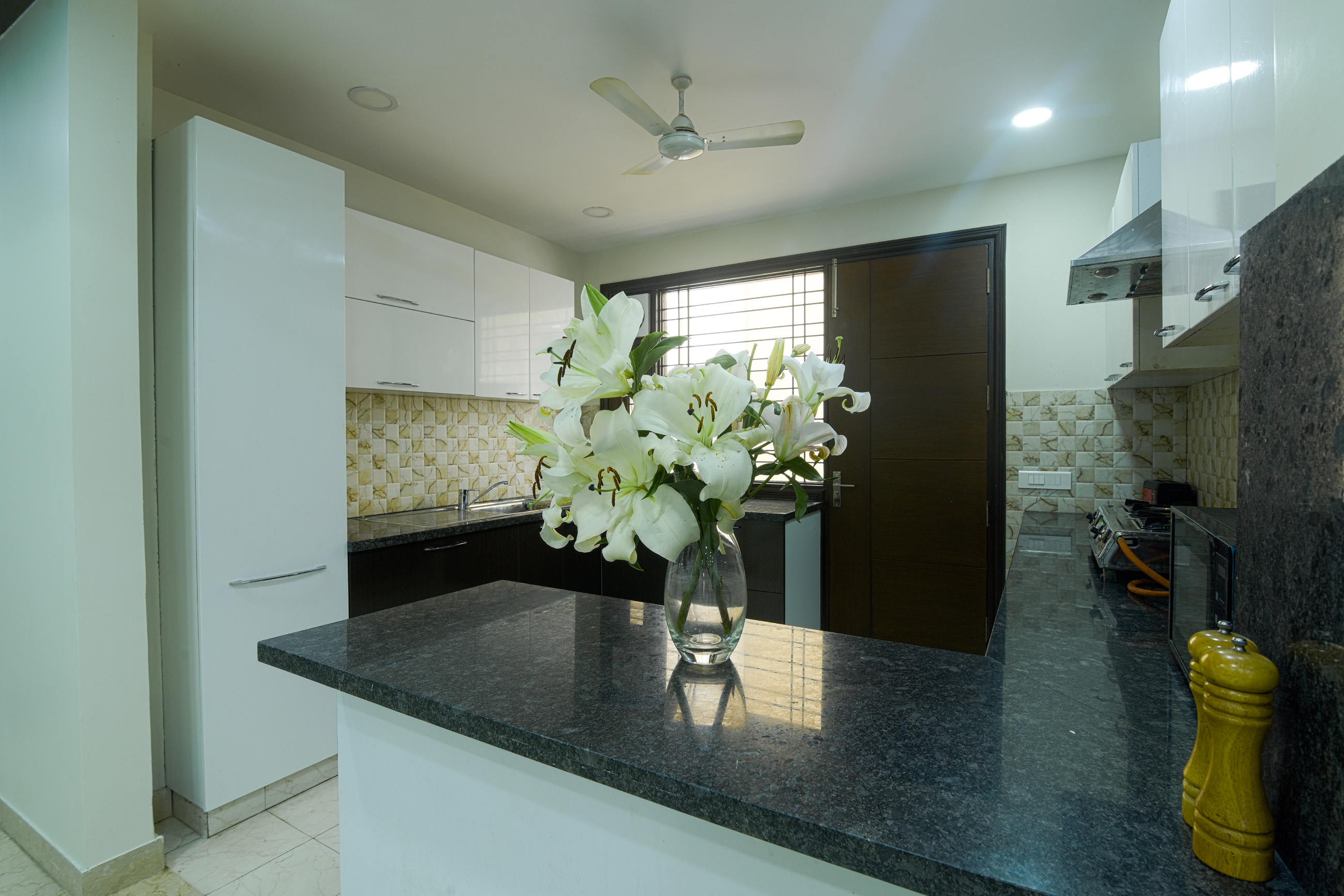3 BHK - Kitchen