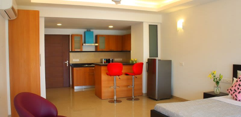 Perch Studio Apartments (Sohna Road), Studio Apartment