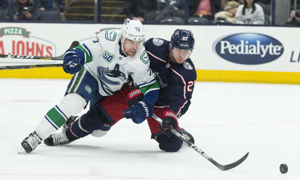 NHL: Vancouver Canucks at Columbus Blue Jackets