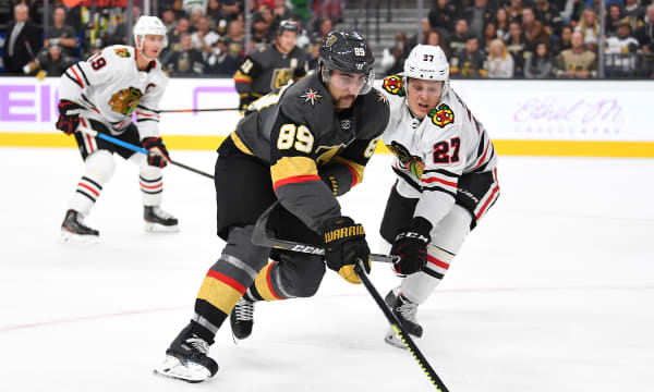 NHL: Chicago Blackhawks at Vegas Golden Knights