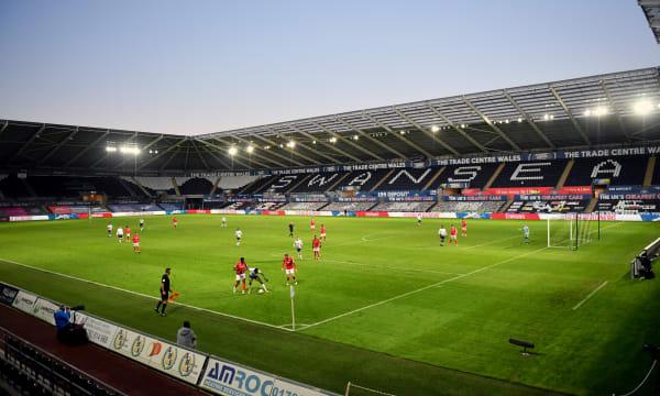 Swansea City v Nottingham Forest - Emirates FA Cup - Fourth Round - Liberty Stadium