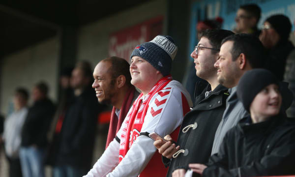Crawley Town v Fleetwood Town - FA Cup Second Round