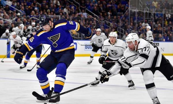NHL: Los Angeles Kings at St. Louis Blues