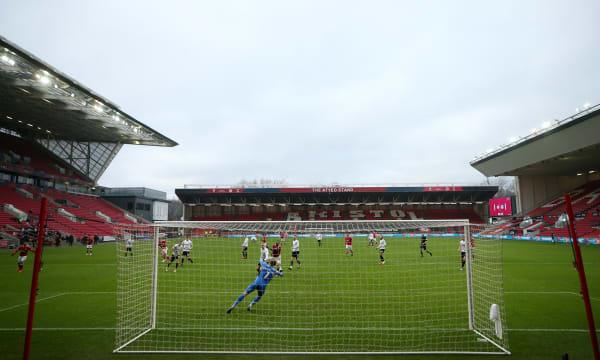 Bristol City v Portsmouth - Emirates FA Cup - Third Round - Ashton Gate