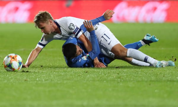 SOCCER: SEP 08 UEFA EURO 2020 Qualifying - Finland v Italy