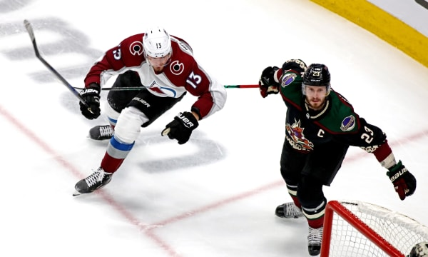 NHL: Stanley Cup Playoffs-Colorado Avalanche at Arizona Coyotes