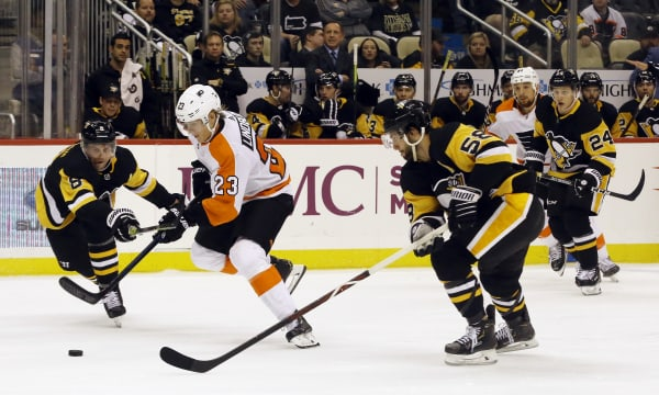 The Battle of Pennsylvania:  Penguins clash with rival Flyers