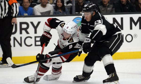 NHL: Preseason-Arizona Coyotes at Los Angeles Kings