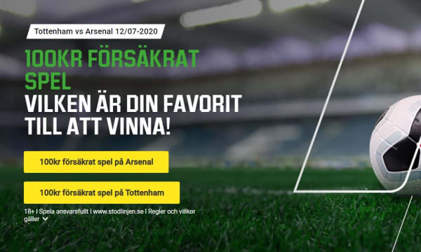 Unibet Boost Tottenham Arsenal