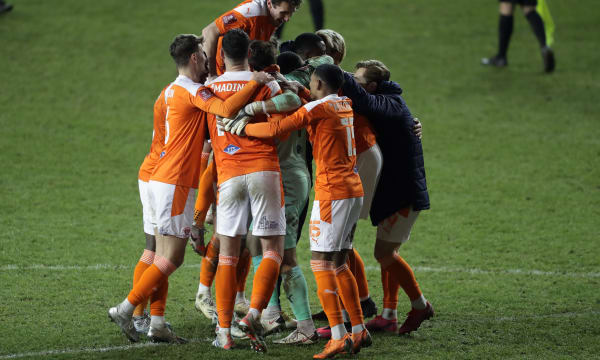 Blackpool v West Bromwich Albion - Emirates FA Cup - Third Round - Bloomfield Road