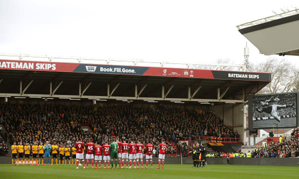 Bristol City v Wolverhampton Wanderers - FA Cup - Fifth Round - Ashton Gate