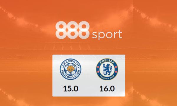 Promo: 888 Sport, SV, Leicester - Chelsea