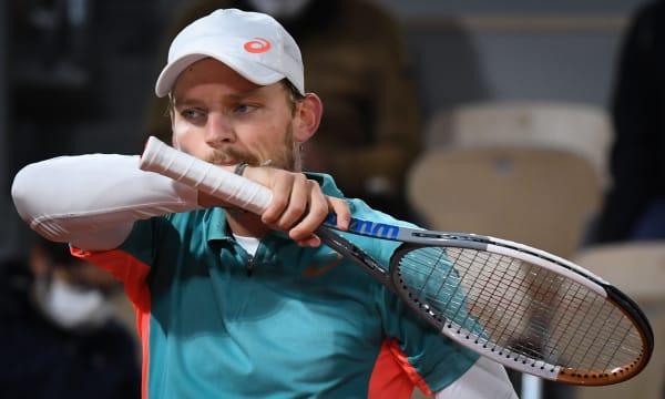 FRANCE TENNIS ROLAND GARROS GOFFIN VS SINNER