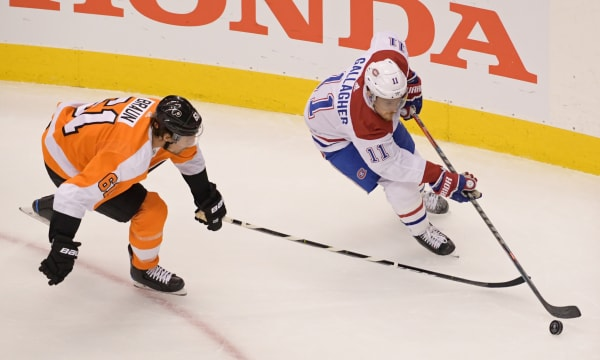 NHL: Stanley Cup Playoffs-Montreal Canadiens at Philadelphia Flyers