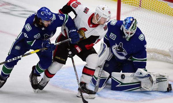 NHL: Preseason-Ottawa Senators at Vancouver Canucks