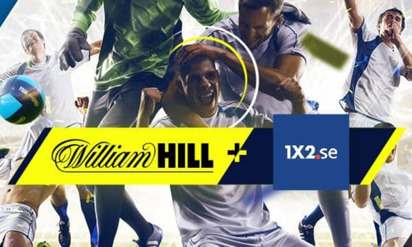 William Hill + 1x2 (gson trippel)
