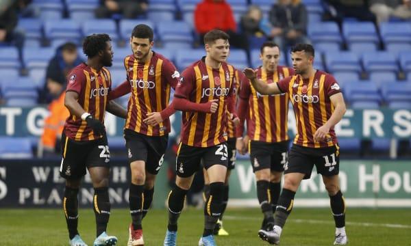 Shrewsbury Town v Bradford City - FA Cup: 1st Round