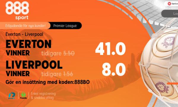 Promo: 888sport, SV, Everton - Liverpool