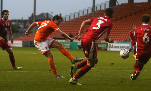 Blackpool FC v Morecambe FC - FA Cup: 1st Round