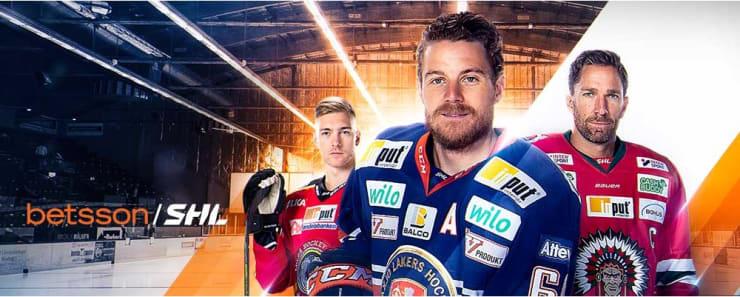 Svensk ishockey hos Betsson
