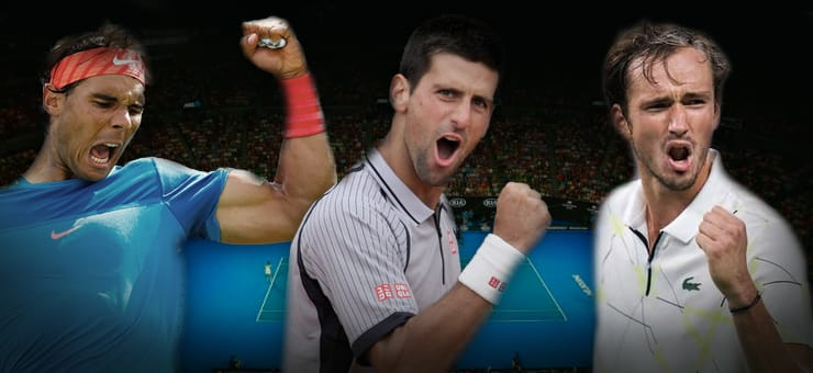 Best men's singles Australian Open outrights odds