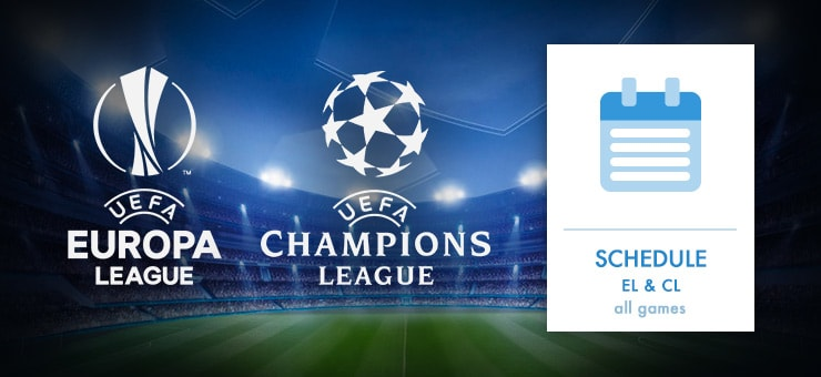 Champions League playing dates