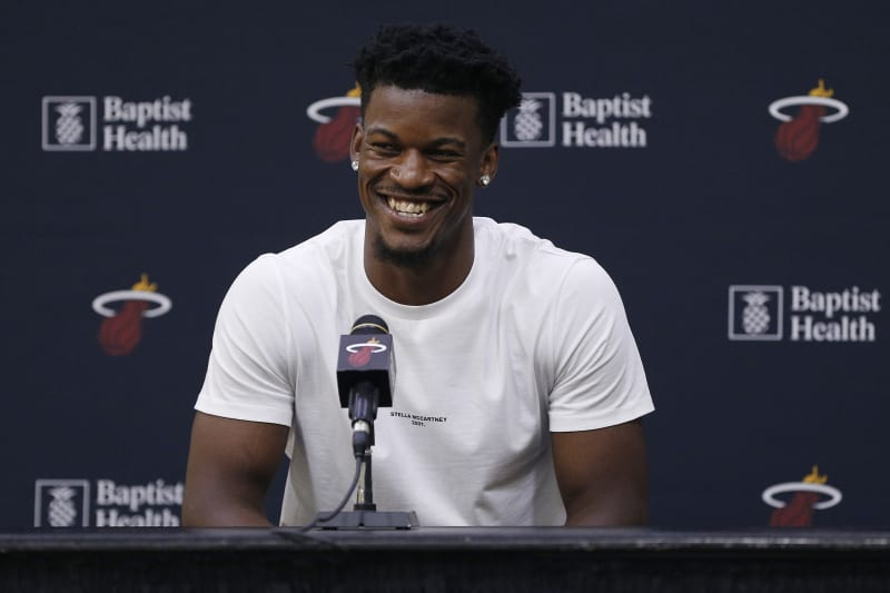 Miami Heat Introduce Jimmy Butler