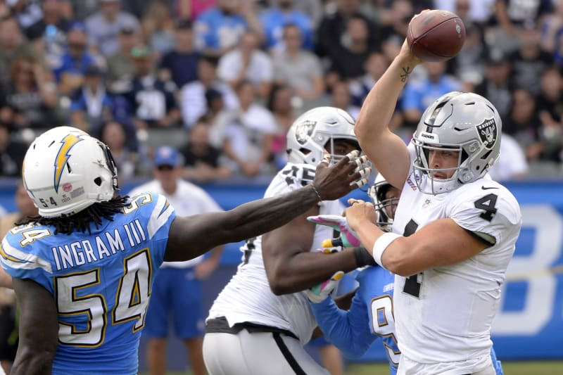NFL: Oakland Raiders at Los Angeles Chargers