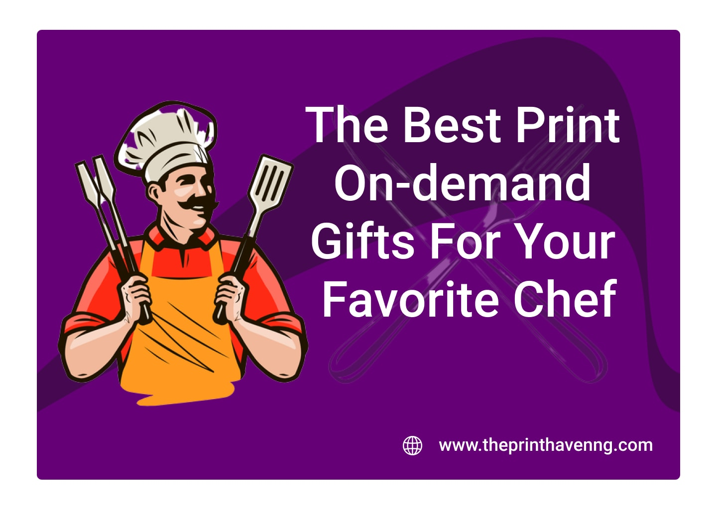 Top 7 Print On-demand Gifts For Your Favorite Chef