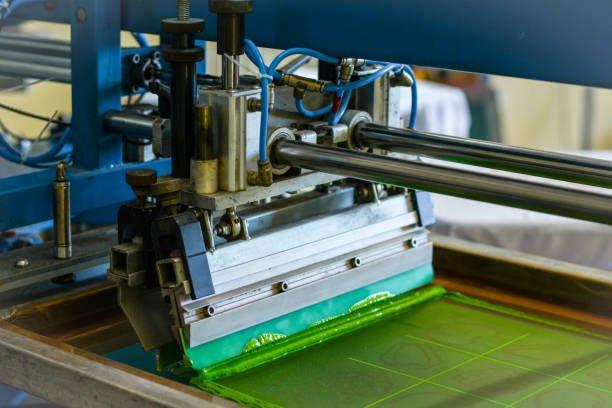 Ink, Printing Plant, Printer, Manual Worker, Working