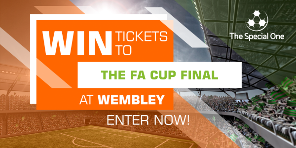 <p>2 tickets to the FA Cup Final at Wembley Stadium on<strong>Saturday 19th May 2018</strong>. Kick Off<strong>17.30</strong>.</p>