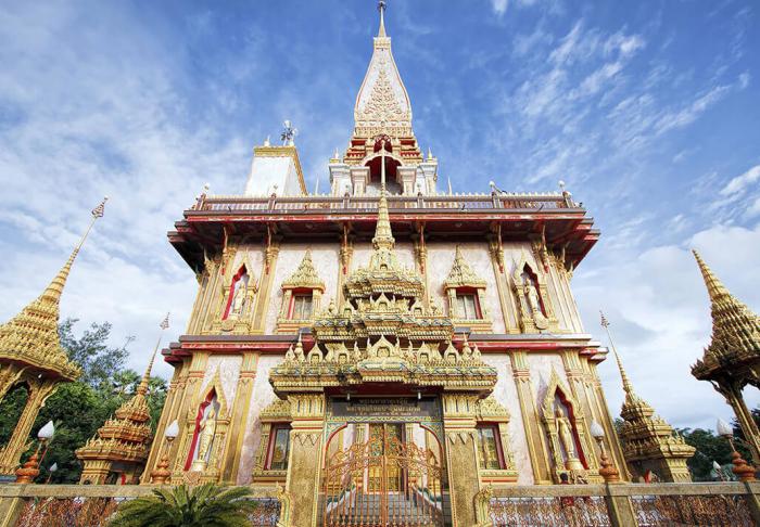 Wat Chalong in Wat Chalong, Phuket