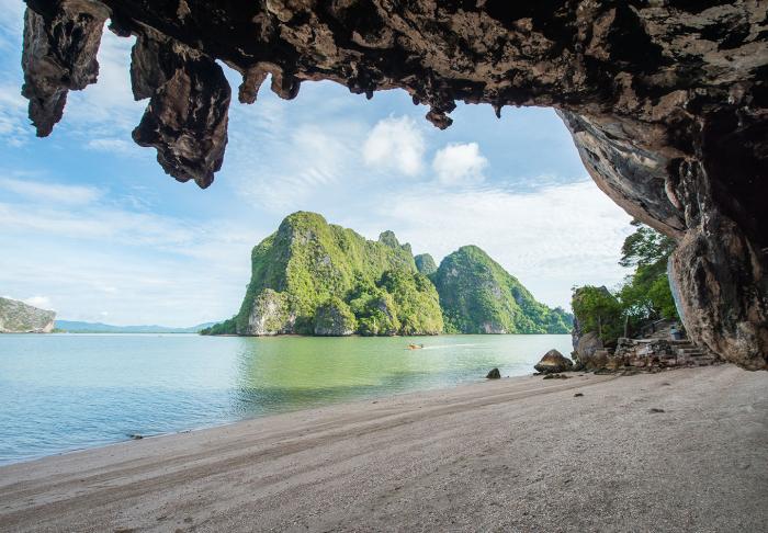 Phang Nga Bay in Phang Nga Bay, Phuket