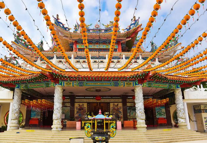Thean Hou Temple in Thean Hou Temple, Kuala Lumpur