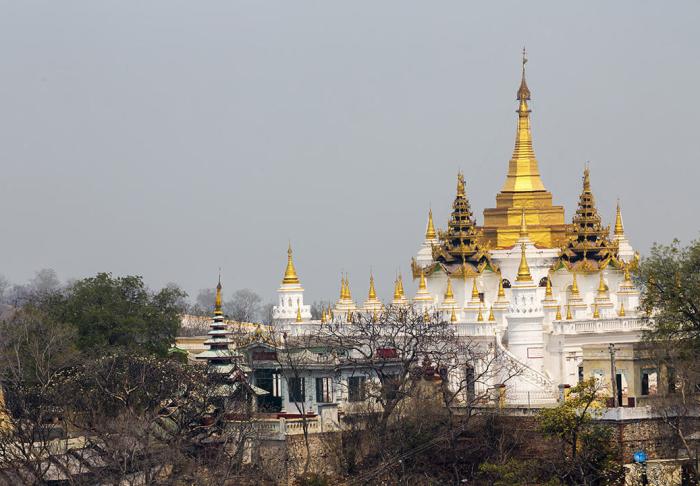 Sagaing Hill in Sagaing Hill, Mandalay