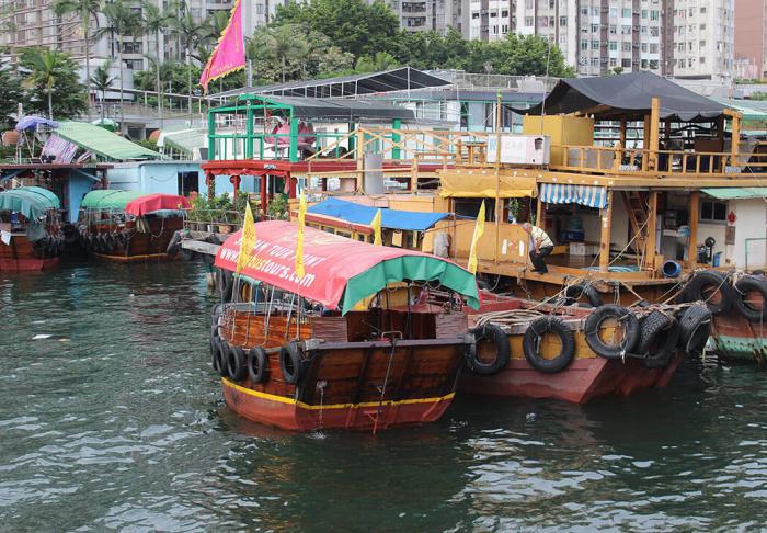 Aberdeen Harbour in Aberdeen Harbour, Hong Kong