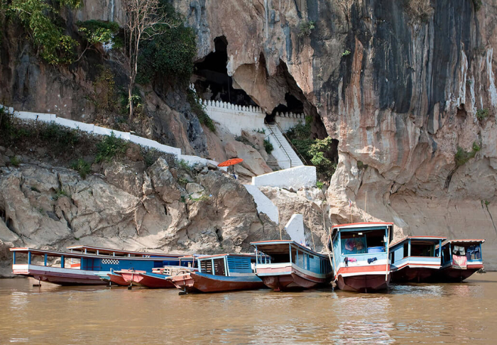 Boat trip to Pak Ou Caves & Nong Khiaw village in Boat trip to Pak Ou Caves & Nong Khiaw village, Luang Prabang