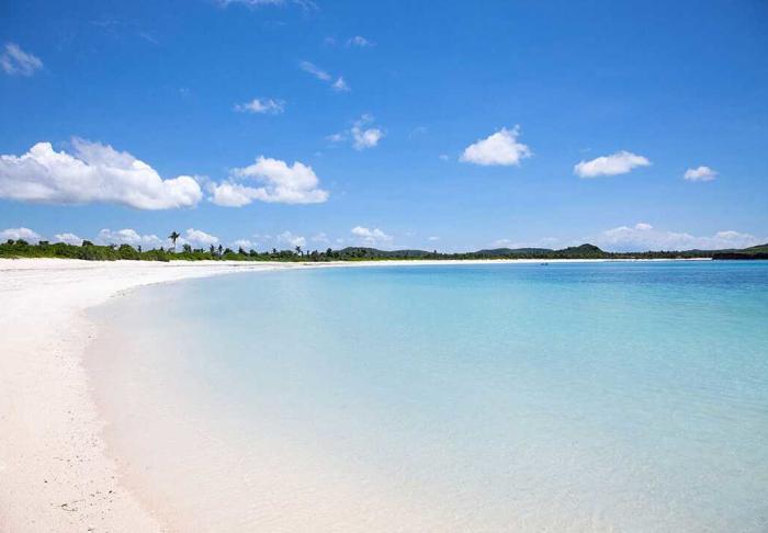 Tanjung Aan Beach in Tanjung Aan Beach , Lombok