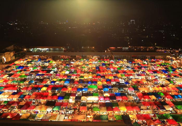 Chatuchak Market in Chatuchak Market, Bangkok