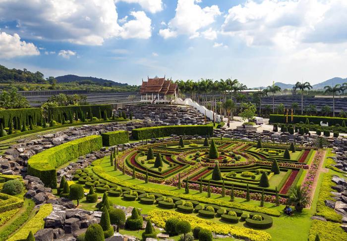 Nong Nooch Tropical Botanical Garden in Nong Nooch Tropical Botanical Garden, Pattaya