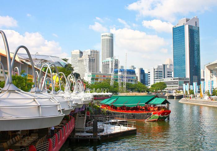 Clarke Quay in Clarke Quay, Singapore