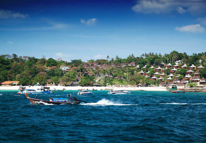 The Phi Phi Islands in The Phi Phi Islands, Phuket