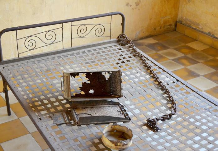 S-21 Prison & Genocide Museum in S-21 Prison & Genocide Museum, Phnom Phen